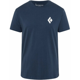 Black Diamond Double Diamond Tee Men ink blue